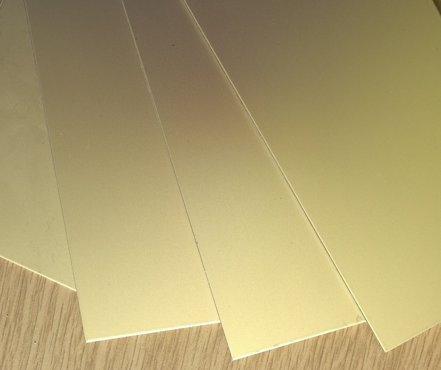 Aluminium Gold Anodised Sheet 5005 AQ H14