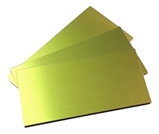 Trophy Aluminium Sheet - Matt Gold Anodised