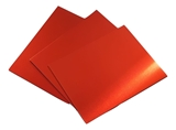 Trophy Aluminium Sheet - Matt Red Anodised