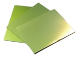 Trophy Aluminium Sheet - Matt Yellow Anodised