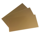 Trophy Aluminium Sheet - Bright Dark Gold Rose